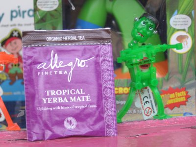Allegro Tropical Yerba Mate Tea – Crank Dat Frankenstein