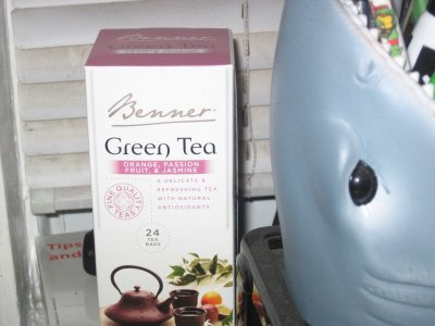 Benner Green Tea with Orange, Passion Fruit, and Jasmine – Aldi Style