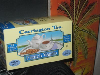 Carrington French Vanilla Tea &#8211; Dr. Robotnik&#8217;s Brew