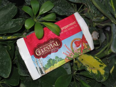 Celestial Seasonings Peppermint Tea – More Mint???