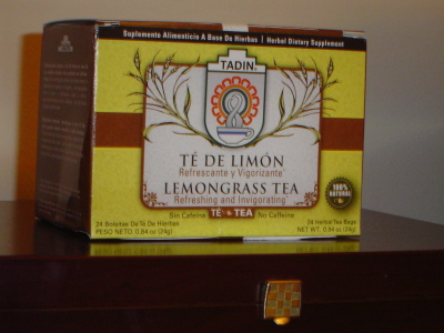 Tadin Lemongrass Tea – A Man of Few Words