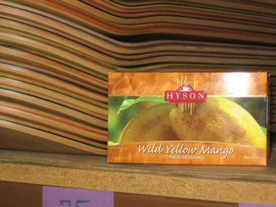 Hyson Wild Yellow Mango Tea – Mike's Feelin Fruity…..wait a minute..