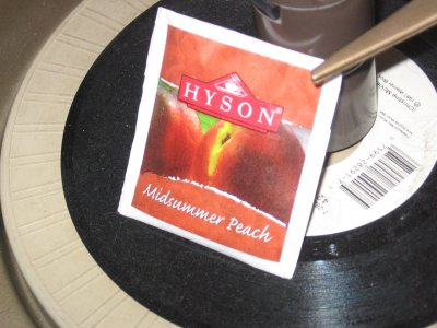 Hyson Midsummer Peach Tea &#8211; On Target Like GPS