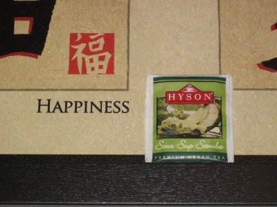 Hyson Sour Sup Samba Green Tea: (UN) Happiness