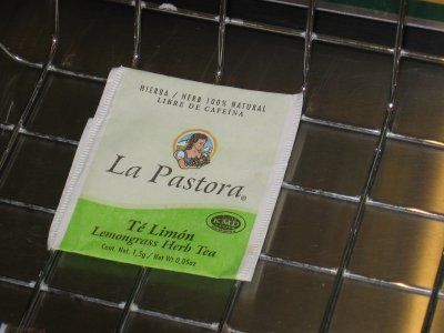 La Pastora Lemongrass Tea – No Me Molestes Nada Mas