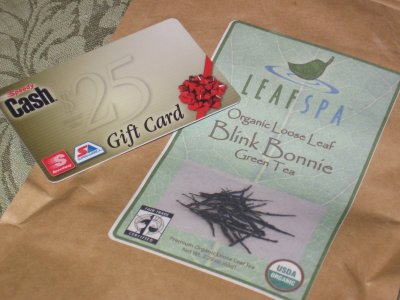 LeafSpa Blink Bonnie Green Tea &#8211; When In Doubt, Buy a Gift Card