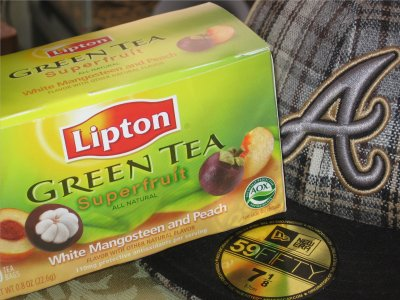 Lipton Superfruit Mangosteen and Peach Green Tea &#8211; Super OK