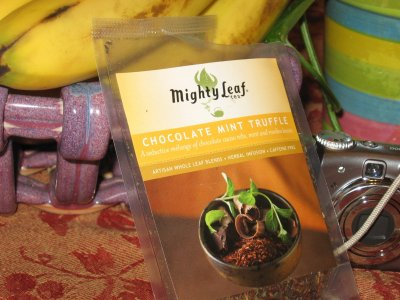 Mighy Leaf Chocolate Mint Truffle – So Good, It's Already Gone
