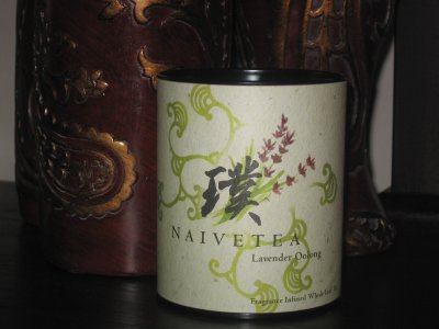 Naivetea Lavender Oolong Tea &#8211; Vancouver Bound, But No Crown