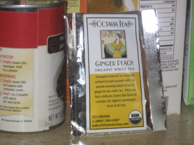 Octavia Ginger Peach White Tea – The Return of the Mack