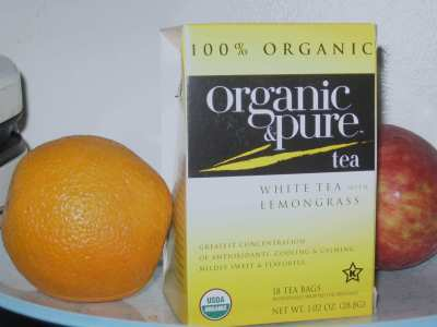 "Organic and Pure White Tea with Lemongrass – Straight ""A"" Student"