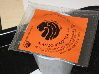 Orient Organics Mango Black Tea – Beautiful on the Outside…