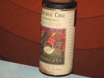 Republic Chai Traveler&#8217;s Tea &#8211; Samurai Strength and Focus