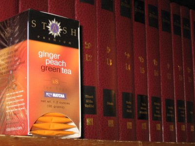 Stash Ginger Peach Green Tea – Keeps Its Head High