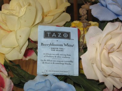 Tazo BerryBlossom White Tea &#8211; Potent Flower Power