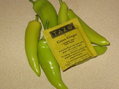 Tazo Green Ginger Tea – Reluctantly Relenquished