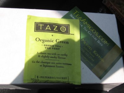 Tazo Organic Green Tea – Earthy, Grassy, and Eco-Friendly