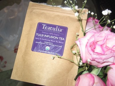 Teatulia Tulsi Infusion Tea &#8211; Power Plant Protectant