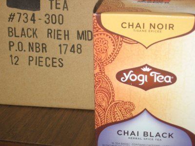Yogi Chai Black Tea &#8211; Post $5 Footlong Treat