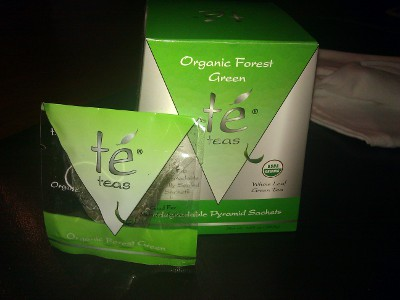 Te Teas Organic Forest Green Tea – Bonus Packaging Points