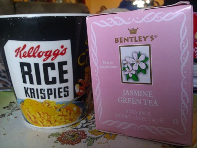 Bentley&#8217;s Jasmine Green Tea &#8211; Smells Like Second Place
