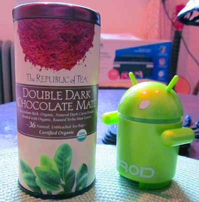 [GUEST REVIEW] The Republic of Tea Double Dark Chocolate Mate &#8211; Droid Digs The Double Dark