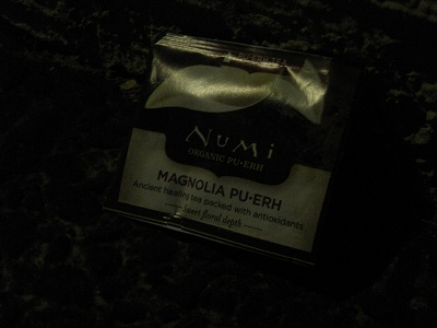 Numi Magnolia Pu-Erh Tea &#8211; DARKNESS!!!